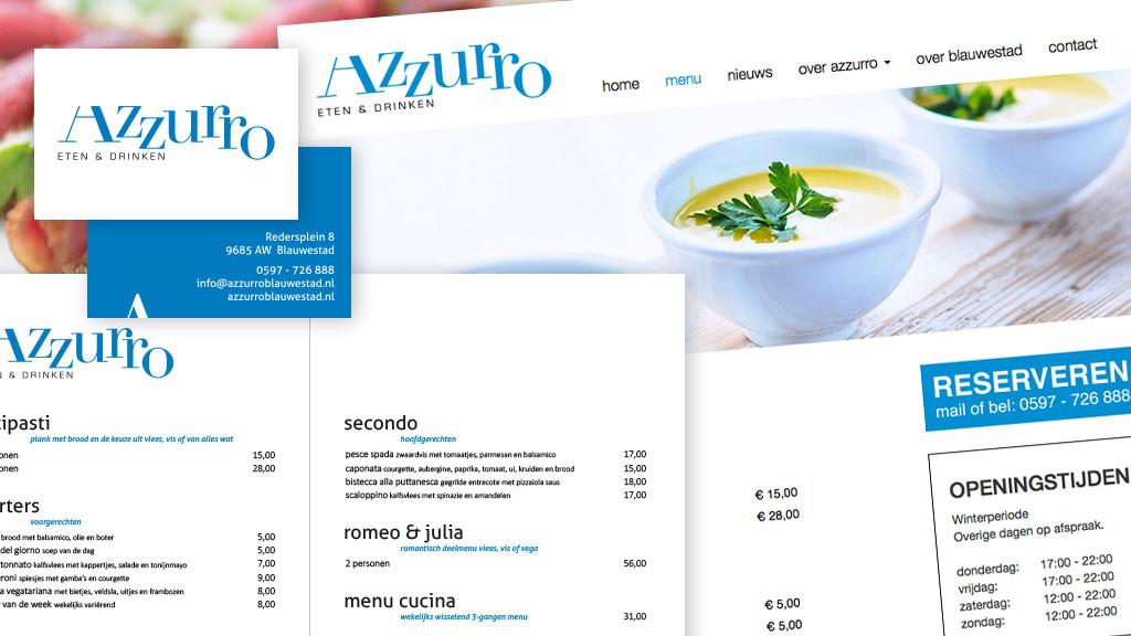 Azzurro eten en drinken
