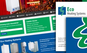 Eco Heating Systems logo + website