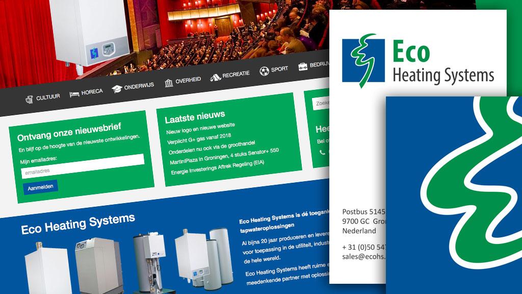 Eco Heating Systems logo + website