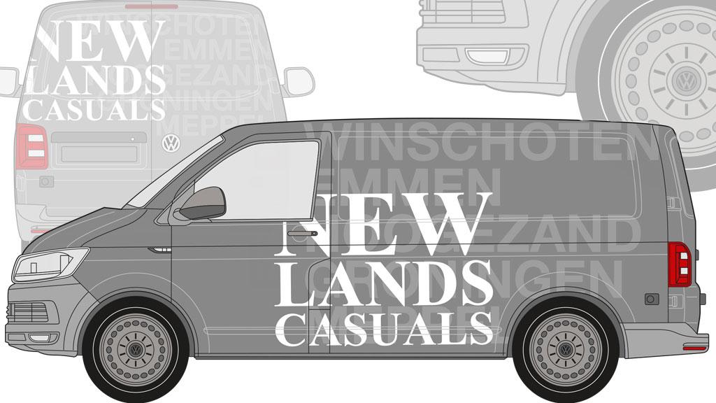 Autobelettering Newlands Casuals