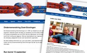 Website Ondernemerskring Oost-Groningen