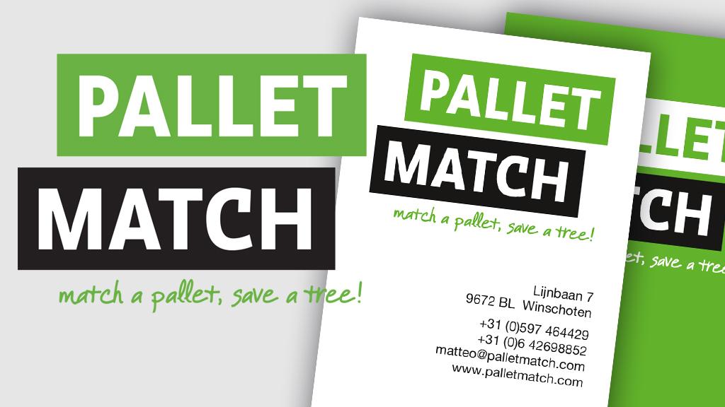 PalletMatch logo + huisstijl
