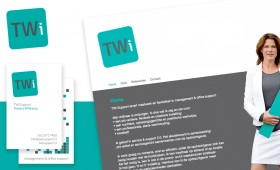 Logo, huisstijl en website TWi Support