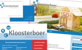 Logo + huisstijl Kloosterboer