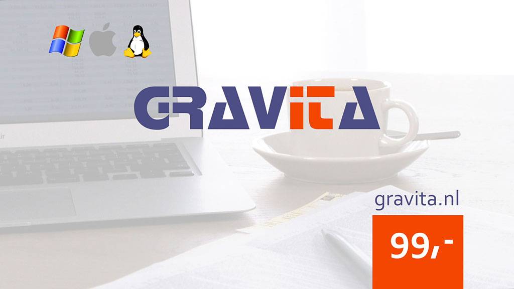 Gravita boekhoudsoftware