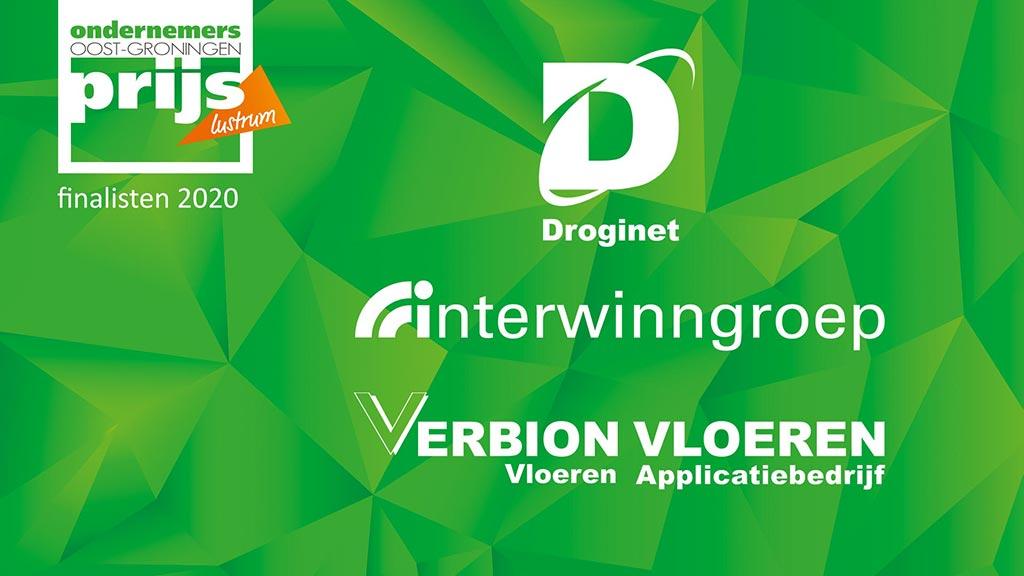 Lustrum editie Ondernemersprijs Oost-Groningen