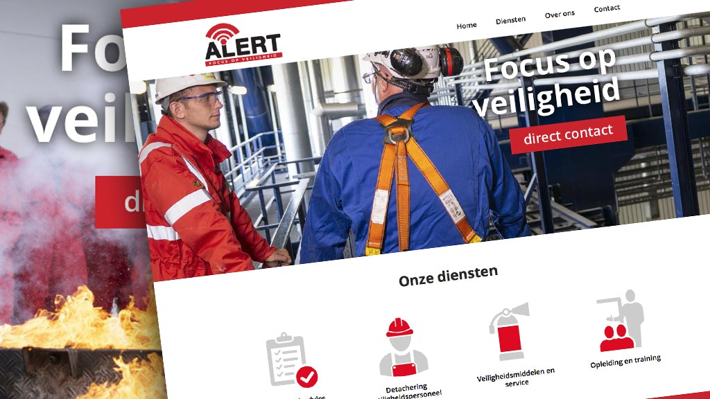 Website en brochurelijn Alert Delfzijl