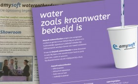 Advertentiestrategie Amysoft waterontharders