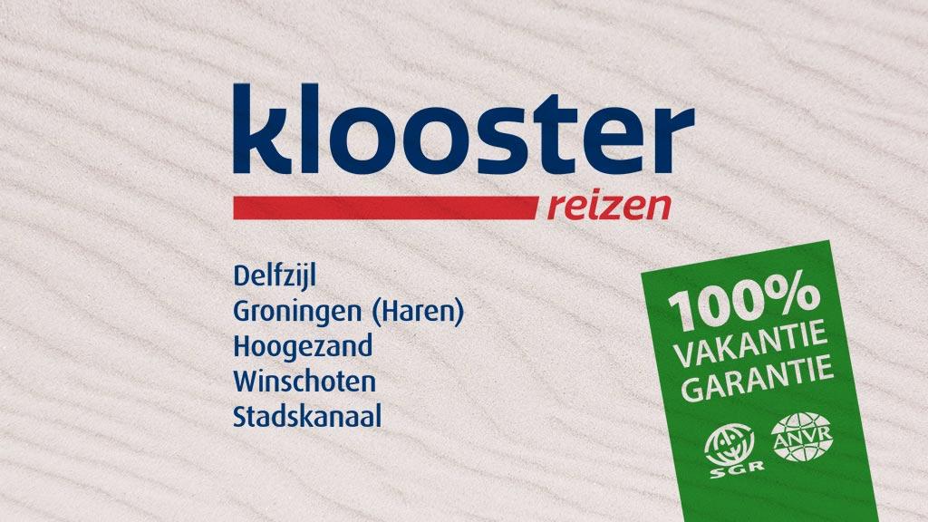 TV-commercial Klooster Reizen