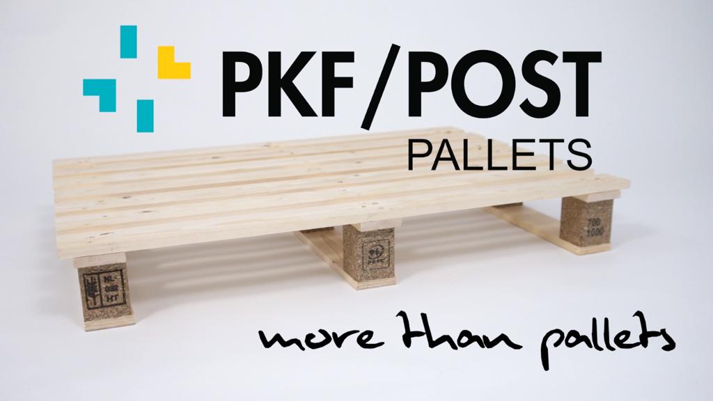 PKF/Post papierpallets video