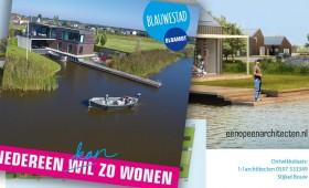 Nieuwe brochure Blauwestad