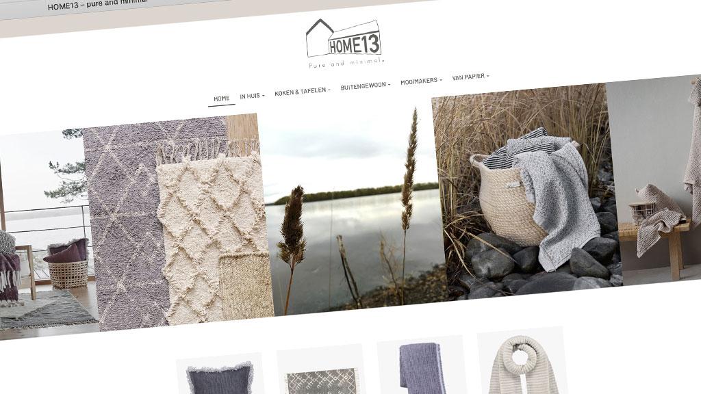 Webshop home13.nl