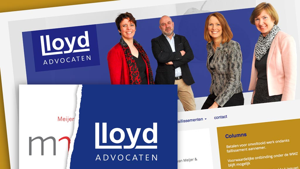 Website en print Lloyd Advocaten