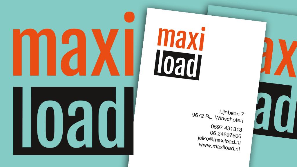 MaxiLoad logo + huisstijl