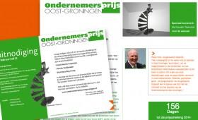 Website Ondernemersprijs Oost-Groningen