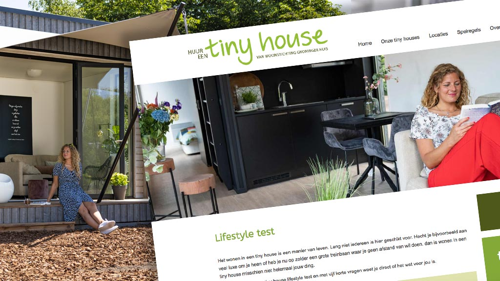 Campagne tiny houses Groninger Huis