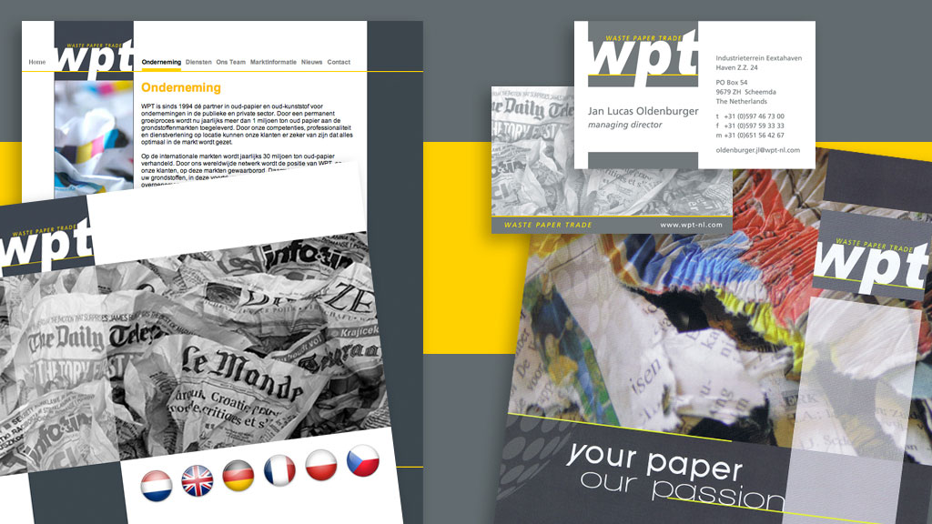 Waste Paper Trade Winschoten